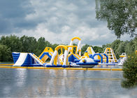 China Liquid Leisure Giant Inflatable Obstacle Course Water Sport Game Waterproof factory