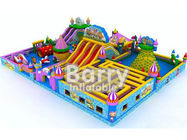 China Fire Retardant Inflatable Sport Game Water Park Slides With Air Blower / Repair Kit factory