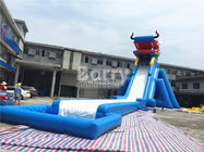 China Dragon Head Outdoor Adult Size Inflatable Water Slide Clearance Huge Inflatable Slides company