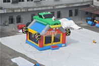 China Commercial Giant Bouncy Castle Funny Construction Car / Truck Inflatable Bounce House company