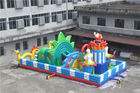 15x8M  Inflatable Toddler Playground With Printing Logo / Backyard Obstacle Course
