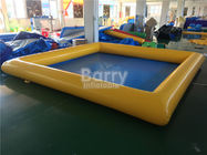China PVC Tarpaulin Square Inflatable Swimming Pool For Kids / Adults factory