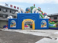 China Custom Arch Entryway / Inflatable Arch Support For Amusement Park factory