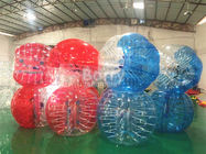 China Red Clear Outdoor Inflatable Toys For Adults / Human Water Bubble Ball factory