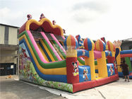 China Customized Mickey Mouse Inflatable Jumping Castle Slide For Backyard factory
