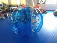China Durable Outdoor Inflatable Toys , Blue Inflatable Hamster Bumper Ball factory