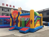 China Large Industrial Small Toddler Or Kids Clown Bounce House On Clearance factory