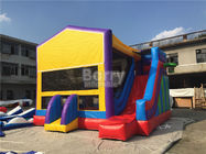 China 0.55mm Pvc Amazing Bounce House Slide Combo For Outdoor Entertainment factory