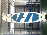 China DWF Material Super Stable Inflatable River Surfing Board / Whitewater Blow Up Paddle Board factory