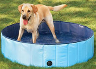 China Cool Pup Splash About Dog Paddling Pool PVC Tarpaulin Smooth Surface factory