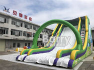 China 0.55mm PVC Commercial Inflatable Slide Double Stitching For Fun Party factory