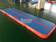 China Drop Stitch Tumbling Air Track Gymnastics Mat , 4m Air Track Gym Mat factory