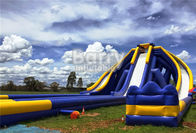 Giant Inflatable Water Slip N Slide , Long Inflatable Trippo Water Slide For Kids And Adults