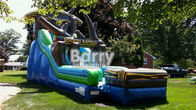 China Giantic 22' Rockin' Rapids Inflatable Water Slide For Backyard / Outdoor factory