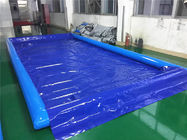 Durable Inflatable Car Wash Mat / Auto Washing Tool Inflatable Water Containment Mat