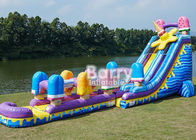 24 FT Ice Pops Slip N Slide , Largest Inflatable Water Slide For Playground