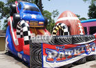 China Giant Colorful Children 18ft Patriot Monster Truck Inflatable Slide With CE Certificate factory