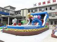 Special Shape Kids Animal Commercial Inflatable Slide For Birthday Party Or For Business Rental