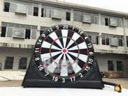 Outdoor Inflatable Interactive Games Customized Giant Dart Board Football Darts