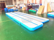 China 5M Air Track Gymnastics Mat For Outdoor , Inflatable Gymnastics Floor factory