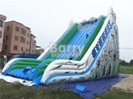 Custom Made Large Inflatable Slide , Commercial Adult Blow Up Slide