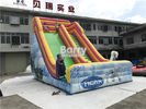 Customized OEM Design PVC 0.5MM Kids Inflatable Dry Slide CE / UL Blower
