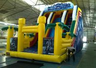 China Renting 7M Height Giant Commercial Inflatable Slide With CE / UL Blower factory