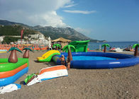 China Interesting Water Park / Beach Inflatable Swimming Pools For Adults CE company