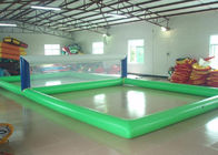 Attractive Inflatable Sports Games 15 × 8m Inflatable Volleyball Court