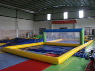 China Enjoyable Inflatable Sports Games , Inflatable Beach Volleyball Court factory