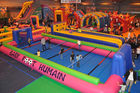 China Giant Indoor Sport Game Inflatable Soccer Kick Field , Inflatable Court for Soccer Kicking factory
