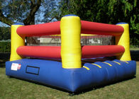 China 0.55mm pvc Inflatable Sports Games , Inflatable Indoor Court For Boxing Ring factory