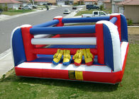 China 2 Person Inflatable Boxing Ring , PVC Inflatable Fighting Court for Kids factory