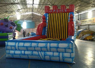 China Funny Inflatable Interactive Games  Sticky Wall with Accessories factory