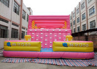 China Lovely Inflatable Interactive Games Blow Up Rock Climbing Wall For Kids factory