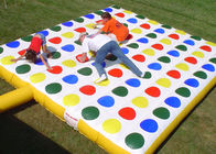 Popular Inflatable Interactive Games , Kids Inflatable Twister Game