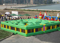 China Giant Inflatable Interactive Games / Amusement Park Inflatable Maze company