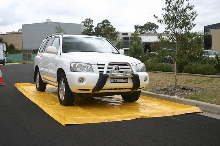 Economic Inflatable Car Wash Mat Commercial Portable Car Pad Easy Clean