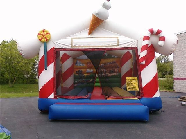 China Large Animal Candyland Commercial Grade Bounceland Bounce House For Party factory