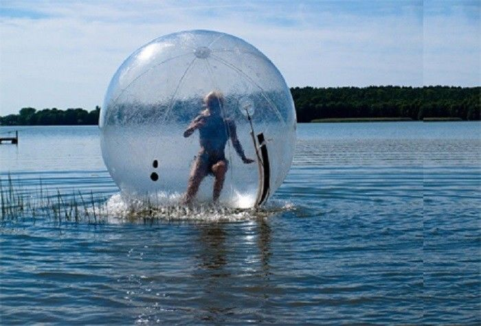 Commercial Large Blow Up Water Toys Giant Sexy Bubble