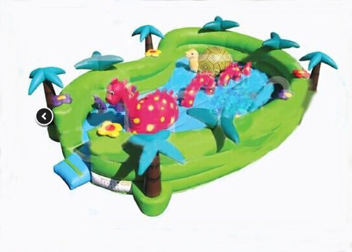 Safety Jungel Seaworld Adventure Inflatable Toddler Playground 24ft x 16ft x 6ft supplier