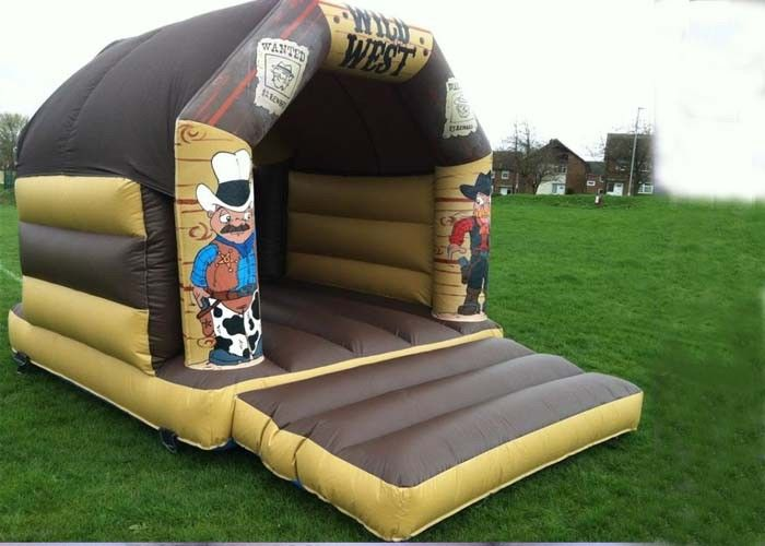 Wonderful Wild West Inflatable Bouncer Custom Jump For Kids Party supplier
