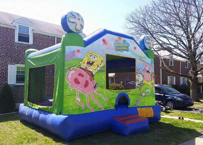 Amazing Backyard Spongebob Bounce House , Big Party Jumpers Bounce House  Party