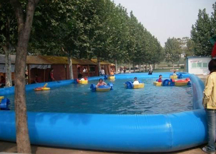 China Water Equipment Kid Swimming Pool With Inflatable Toys /Inflatable Swimming Pool factory