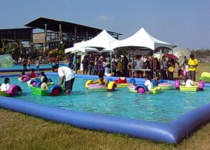 China Amusement Park Small Swimming Pools For Kids , Inflatable Swimming Pool For Family factory