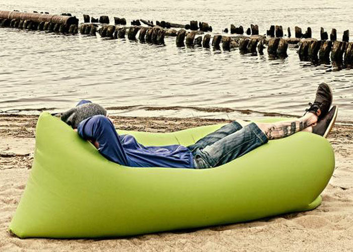 Summer Outdoor Beach Lounge Lazy Bag Inflatable Camping Lamzac Hangout Air Sofa supplier