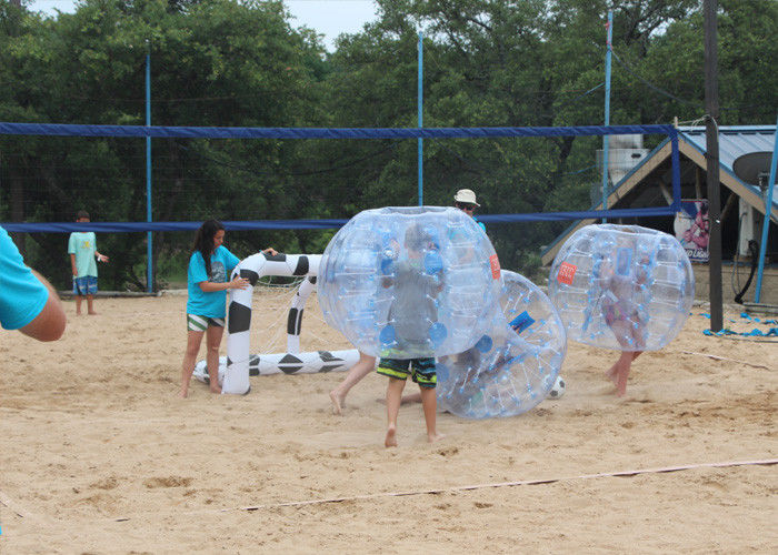 China Adult TPU Inflatable Bumper Ball , Outdoor Inflatable Toys Bubble Soccer Ball For Kids factory