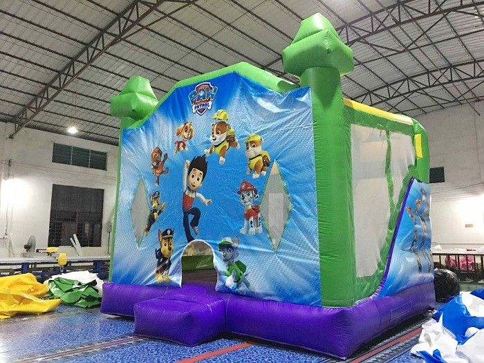 Commercial Home Use  Inflatable Bouncy Castle , Inflatable Bouncer House Jump House With Slide supplier