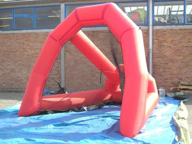 China PVC Tarpaulin Inflatable Sports Games Golf Net / Golf Target / Golf Practice Cage factory