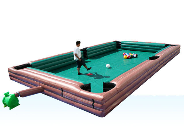 China Commercial Grade Inflatable Sports Games Human Billiard Snooker Ball Field factory